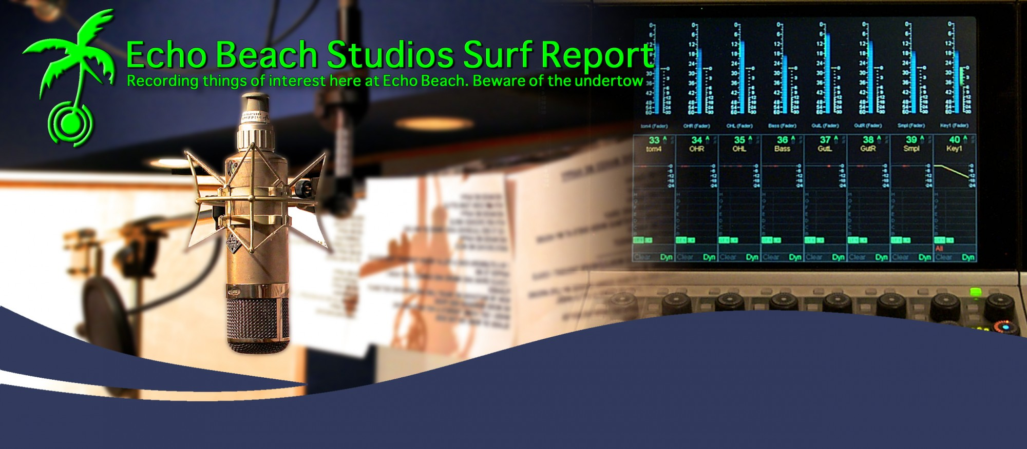The Echo Beach Studios Surf Report