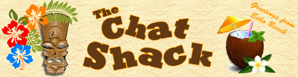 the chat shack banner